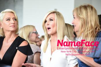 NYFW Pamella Roland Runway Show Dorinda Medley, Tinsley Mortimer and Sonja Morgan - NameFace Photo Agency New York City - hello@nameface.com - nameface.com - Photo by Daniela Kirsch