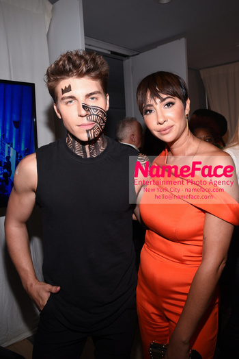 Belvedere Vodka Launches Laolu Senbanjo 2018 Limited Edition Bottle During New York Fashion Week Nolan Funk and Jackie Cruz - NameFace Photo Agency New York City - hello@nameface.com - nameface.com - Photo by Daniela Kirsch