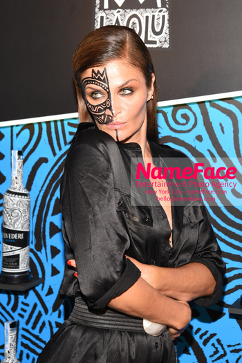 Belvedere Vodka Launches Laolu Senbanjo 2018 Limited Edition Bottle During New York Fashion Week Helena Christensen - NameFace Photo Agency New York City - hello@nameface.com - nameface.com - Photo by Daniela Kirsch