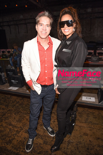 Artistix Runway Fashion Show Arrivals Andy Hilfiger and La La Anthony - NameFace Photo Agency New York City - hello@nameface.com - nameface.com - Photo by Daniela Kirsch