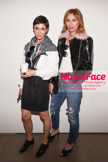 Christian Cowan Runway Show NYFW Cassandra Grey and Carole Radziwill - NameFace Photo Agency New York City - hello@nameface.com - nameface.com - Photo by Daniela Kirsch