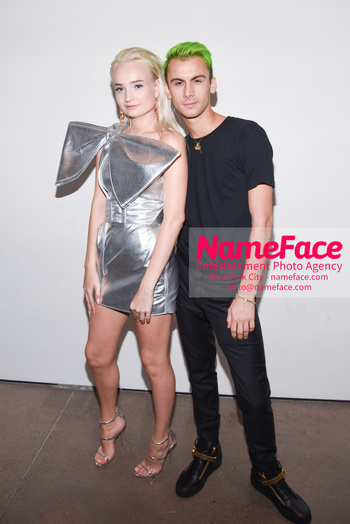 Christian Cowan Runway Show NYFW Kim Petras and Christian Cowan - NameFace Photo Agency New York City - hello@nameface.com - nameface.com - Photo by Daniela Kirsch