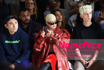 Christian Cowan Runway Show NYFW Nicola Formichetti, Christina Aguilera and Troye Sivan - NameFace Photo Agency New York City - hello@nameface.com - nameface.com - Photo by Daniela Kirsch