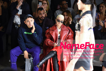 Christian Cowan Runway Show NYFW Nicola Formichetti and Christina Aguilera - NameFace Photo Agency New York City - hello@nameface.com - nameface.com - Photo by Daniela Kirsch