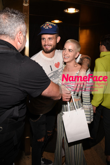 Christian Siriano Runway Show NYFW Nico Tortorella and Bethany C. Meyers - NameFace Photo Agency New York City - hello@nameface.com - nameface.com - Photo by Daniela Kirsch