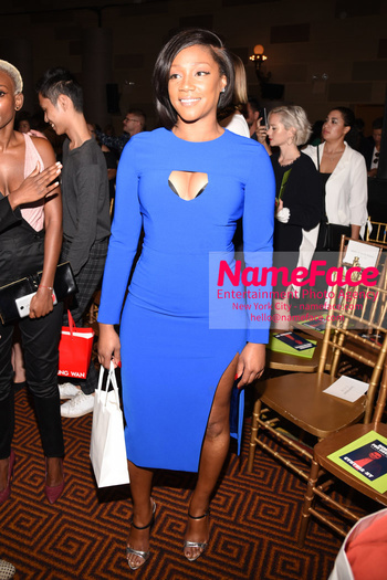 Christian Siriano Runway Show NYFW Tiffany Haddish - NameFace Photo Agency New York City - hello@nameface.com - nameface.com - Photo by Daniela Kirsch