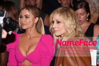 Christian Siriano Runway Show NYFW Carmen Electra and Judith Light - NameFace Photo Agency New York City - hello@nameface.com - nameface.com - Photo by Daniela Kirsch