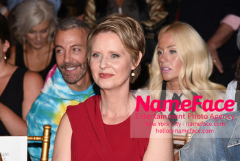 Christian Siriano Runway Show NYFW Cynthia Nixon - NameFace Photo Agency New York City - hello@nameface.com - nameface.com - Photo by Daniela Kirsch