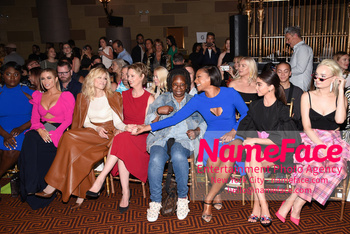 Christian Siriano Runway Show NYFW Danielle Brooks, Carmen Electra, Judith Light, Cynthia NIxon, Whoopi Goldberg and Sarah Hyland - NameFace Photo Agency New York City - hello@nameface.com - nameface.com - Photo by Daniela Kirsch