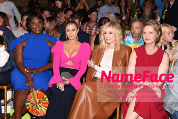 Christian Siriano Runway Show NYFW Danielle Brooks, Carmen Electra, Judith Light and Cynthia Nixon - NameFace Photo Agency New York City - hello@nameface.com - nameface.com - Photo by Daniela Kirsch