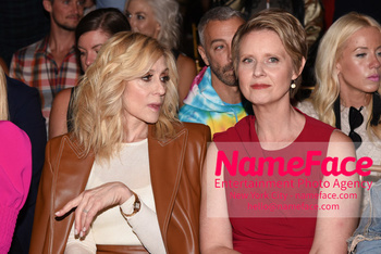 Christian Siriano Runway Show NYFW Judith Light and Cynthia Nixon - NameFace Photo Agency New York City - hello@nameface.com - nameface.com - Photo by Daniela Kirsch