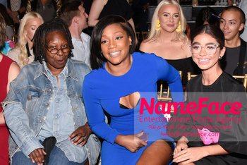 Christian Siriano Runway Show NYFW Whoopi Goldberg, Tiffany Haddish and Sarah Hyland - NameFace Photo Agency New York City - hello@nameface.com - nameface.com - Photo by Daniela Kirsch