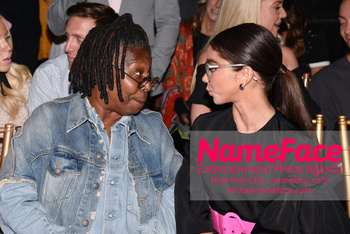 Christian Siriano Runway Show NYFW Whoopi Goldberg and Sarah Hyland - NameFace Photo Agency New York City - hello@nameface.com - nameface.com - Photo by Daniela Kirsch