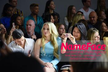 Taoray Wang Runway Show NYFW Arrivals Tiffany Trump and Susan Shin - NameFace Photo Agency New York City - hello@nameface.com - nameface.com - Photo by Daniela Kirsch