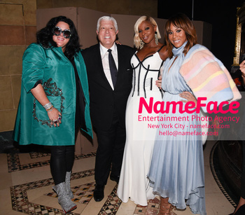 Dennis Basso NYFW with Mary J. Blige Ashley Longshore, Dennis Basso, Mary J. Blige and Deborah Cox - NameFace Photo Agency New York City - hello@nameface.com - nameface.com - Photo by Daniela Kirsch