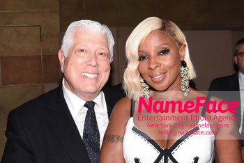 Dennis Basso NYFW with Mary J. Blige