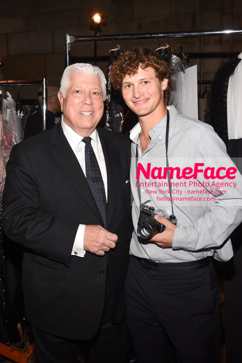 Dennis Basso NYFW with Mary J. Blige Dennis Basso and Warren Elgort - NameFace Photo Agency New York City - hello@nameface.com - nameface.com - Photo by Daniela Kirsch