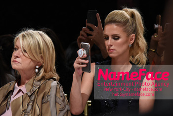 Dennis Basso NYFW with Mary J. Blige Nicky Hilton - NameFace Photo Agency New York City - hello@nameface.com - nameface.com - Photo by Daniela Kirsch