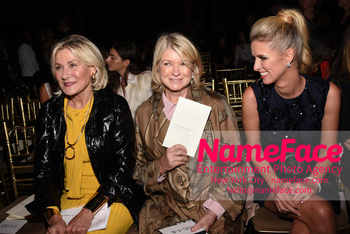 Dennis Basso NYFW with Mary J. Blige Susan Magrino and Martha Stewart and Nicky Hilton - NameFace Photo Agency New York City - hello@nameface.com - nameface.com - Photo by Daniela Kirsch