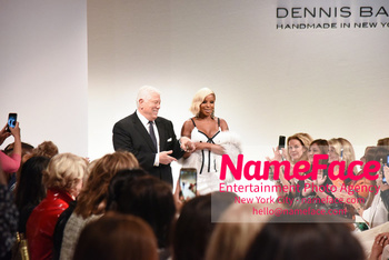 Dennis Basso NYFW with Mary J. Blige Dennis Basso and Mary J. Blige - NameFace Photo Agency New York City - hello@nameface.com - nameface.com - Photo by Daniela Kirsch