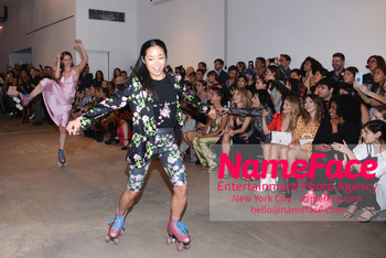 Cynthia Rowley NYFW Runway Show on Skates Atmosphere - NameFace Photo Agency New York City - hello@nameface.com - nameface.com - Photo by Daniela Kirsch