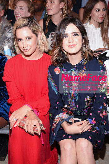 Cynthia Rowley NYFW Runway Show on Skates Ashley Tisdale and Laura Marano - NameFace Photo Agency New York City - hello@nameface.com - nameface.com - Photo by Daniela Kirsch