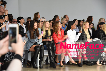 Tome Runway Show NYFW Jessica Hart, Alysia Reiner, Guest and Iskra Lawrence - NameFace Photo Agency New York City - hello@nameface.com - nameface.com - Photo by Daniela Kirsch