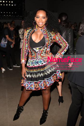 Naeem Khan Runway Fashion Show Front Row Yandy Smith - NameFace Photo Agency New York City - hello@nameface.com - nameface.com - Photo by Daniela Kirsch
