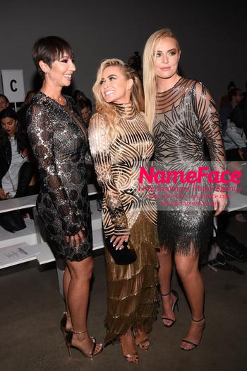 Naeem Khan Runway Fashion Show Front Row Jackie Cruz, Carmen Electra and Lindsey Vonn - NameFace Photo Agency New York City - hello@nameface.com - nameface.com - Photo by Daniela Kirsch