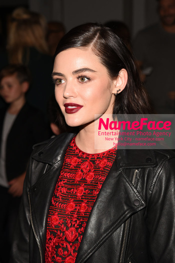 Naeem Khan Runway Fashion Show Front Row Lucy Hale - NameFace Photo Agency New York City - hello@nameface.com - nameface.com - Photo by Daniela Kirsch