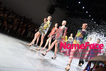 Naeem Khan Runway Fashion Show Front Row Models - NameFace Photo Agency New York City - hello@nameface.com - nameface.com - Photo by Daniela Kirsch