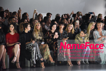 Naeem Khan Runway Fashion Show Front Row Nikki Reed, Carmen Electra, Jackie Cruz, Peyton List, Cara Santana, Lindsey Vonn and Iskra Lawrence - NameFace Photo Agency New York City - hello@nameface.com - nameface.com - Photo by Daniela Kirsch
