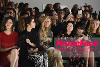 Naeem Khan Runway Fashion Show Front Row Nikki Reed, Carmen Electra, Jackie Cruz and Peyton List - NameFace Photo Agency New York City - hello@nameface.com - nameface.com - Photo by Daniela Kirsch