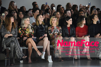 Naeem Khan Runway Fashion Show Front Row Witney Carson, Whitney Port, Ashley Tisdale, Lucy Hale, Nikki Reed and Jackie Cruz - NameFace Photo Agency New York City - hello@nameface.com - nameface.com - Photo by Daniela Kirsch