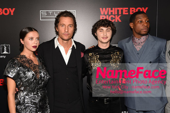 Matthew McConaughey - The New York Special Screening Of 'White Boy Rick' Bel Powley, Matthew McConaughey, Richie Merritt, Jonathan Majors - NameFace Photo Agency New York City - hello@nameface.com - nameface.com - Photo by Daniela Kirsch