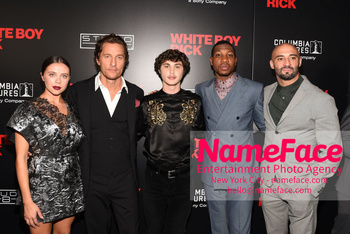 Matthew McConaughey - The New York Special Screening Of 'White Boy Rick' Bel Powley, Matthew McConaughey, Richie Merritt, Jonathan Majors and Yann Demange - NameFace Photo Agency New York City - hello@nameface.com - nameface.com - Photo by Daniela Kirsch