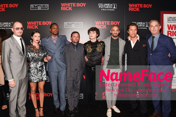 Matthew McConaughey - The New York Special Screening Of 'White Boy Rick' Darren Aronofsky, Bel Powley, Jonathan Majors, Scott Franklin, Richie Merritt, Yann Demange, Matthew McConaughey and John Lesher - NameFace Photo Agency New York City - hello@nameface.com - nameface.com - Photo by Daniela Kirsch