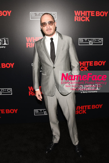 Matthew McConaughey - The New York Special Screening Of 'White Boy Rick' Darren Aronofsky - NameFace Photo Agency New York City - hello@nameface.com - nameface.com - Photo by Daniela Kirsch