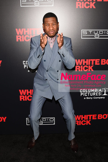 Matthew McConaughey - The New York Special Screening Of 'White Boy Rick' Jonathan Majors - NameFace Photo Agency New York City - hello@nameface.com - nameface.com - Photo by Daniela Kirsch