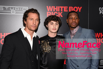 Matthew McConaughey - The New York Special Screening Of 'White Boy Rick' Matthew McConaughey, Richie Merritt and Jonathan Majors - NameFace Photo Agency New York City - hello@nameface.com - nameface.com - Photo by Daniela Kirsch