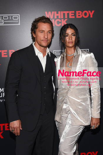 Matthew McConaughey - The New York Special Screening Of 'White Boy Rick' Matthew McConaughey and Camila Alves - NameFace Photo Agency New York City - hello@nameface.com - nameface.com - Photo by Daniela Kirsch