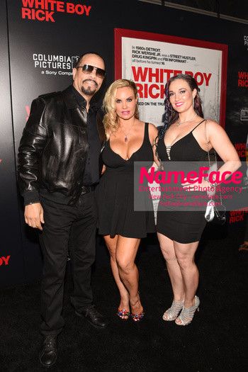 Matthew McConaughey - The New York Special Screening Of 'White Boy Rick' Ice-T and Coco Austin - NameFace Photo Agency New York City - hello@nameface.com - nameface.com - Photo by Daniela Kirsch