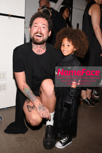Arrivals Marcel Ostertag Runway Show NYFW Marcel Ostertag and Aria De Chicchis - NameFace Photo Agency New York City - hello@nameface.com - nameface.com - Photo by Daniela Kirsch