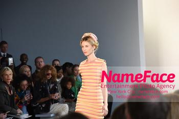 Arrivals Marcel Ostertag Runway Show NYFW Tessa Gräfin von Walderdorff - NameFace Photo Agency New York City - hello@nameface.com - nameface.com - Photo by Daniela Kirsch