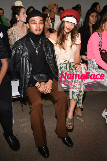 Arrivals Marcel Ostertag Runway Show NYFW Quince and Lina Lindholm - NameFace Photo Agency New York City - hello@nameface.com - nameface.com - Photo by Daniela Kirsch