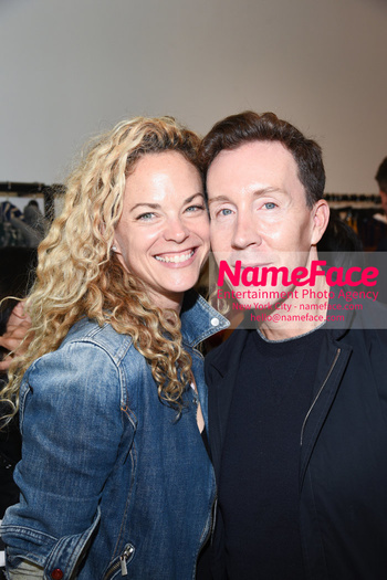 BCBG Soho Store Opening Party Guest and Eric Jennings - NameFace Photo Agency New York City - hello@nameface.com - nameface.com - Photo by Daniela Kirsch
