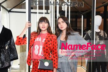 BCBG Soho Store Opening Party Natalie Suarez and Dylana Suarez - NameFace Photo Agency New York City - hello@nameface.com - nameface.com - Photo by Daniela Kirsch