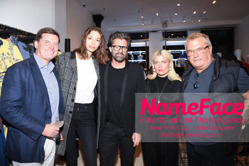 BCBG Soho Store Opening Party Olin Lancaster, Alexandra Agoston and Chris Colls, Kate Young and Marty Staff - NameFace Photo Agency New York City - hello@nameface.com - nameface.com - Photo by Daniela Kirsch