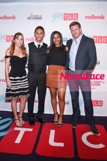 TLC Give A Little Awards 2018 Robin Arnold, Jaylen Arnold, Guest and Dash Mihok - NameFace Photo Agency New York City - hello@nameface.com - nameface.com - Photo by Daniela Kirsch