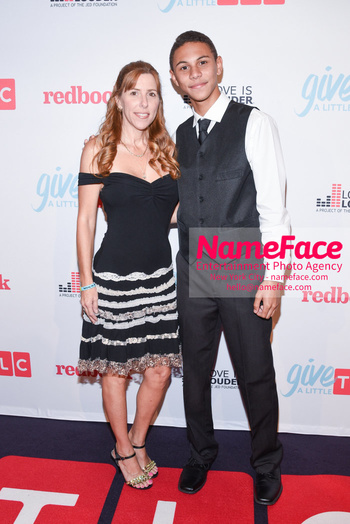 TLC Give A Little Awards 2018 Robin Arnold and Jaylen Arnold - NameFace Photo Agency New York City - hello@nameface.com - nameface.com - Photo by Daniela Kirsch